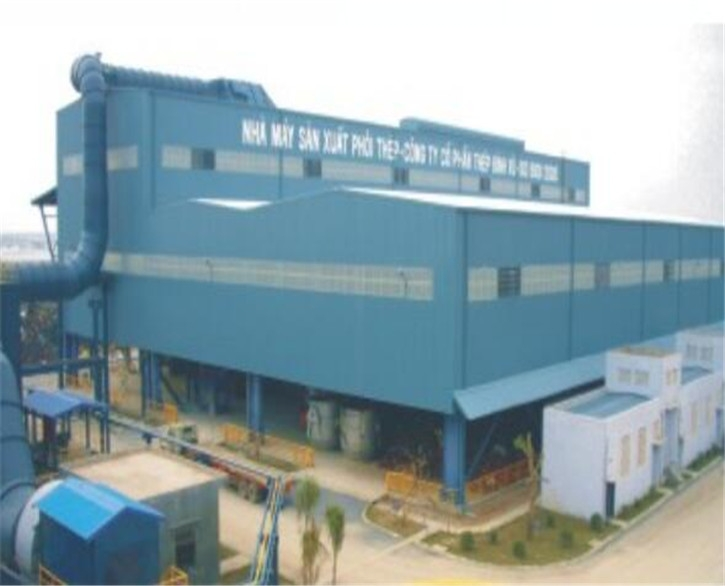 SSC年产20万吨高炉炼钢项目