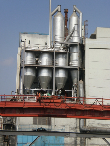 硅锰炉干法除尘
