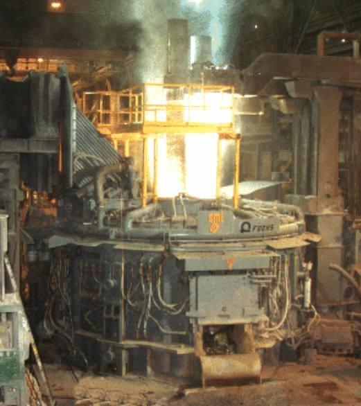 electric-arc furnace