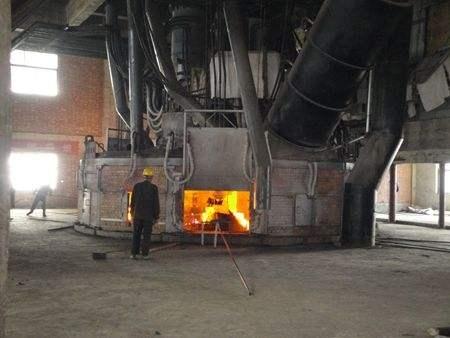submerged arc furnace